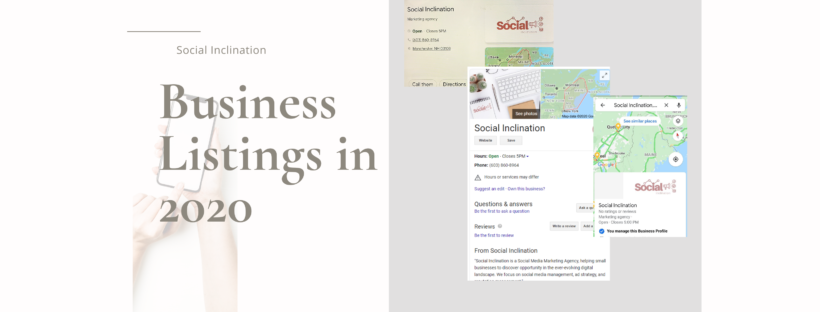 Business Listing examples from Google